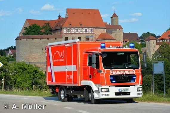 Gerätewagen Logistik auf MAN TGL » Feuerwehr-Magazin
