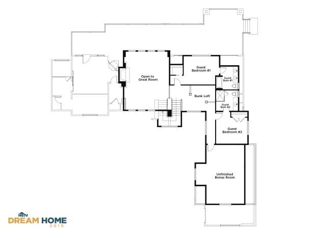 Discover The Floor Plan For Hgtv Dream Home 2019 Floor Plans Hgtv Dream Home Hgtv Dream Homes