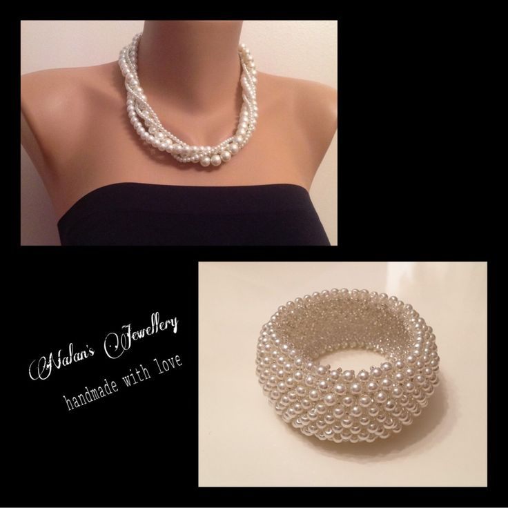 A personal favorite from my Etsy shop https://www.etsy.com/listing/264876673/25-sale-ivory-pearl-twisted