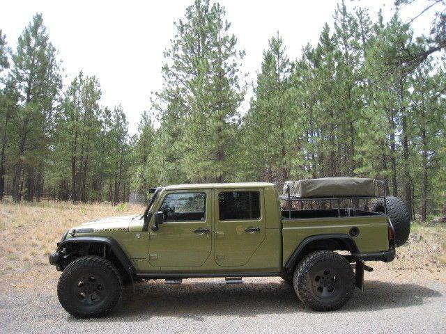 2013 Jeep Wrangler Rubicon Double Cab Pickup Brute