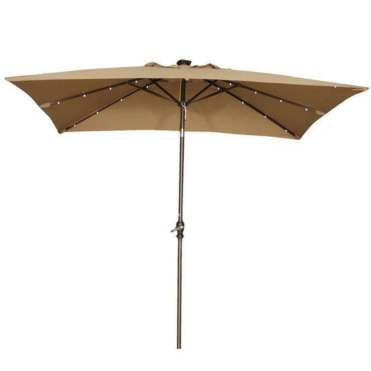 rectangular patio umbrella on pinterest modern outdoor umbrellas. Black Bedroom Furniture Sets. Home Design Ideas
