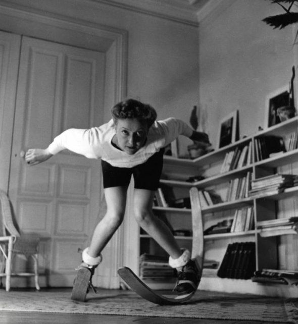 Old Inventions • Indoor Ski's
