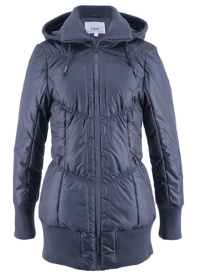 Prešívaná bunda • tmavomodrá • bonprix obchod  919b84ddbad