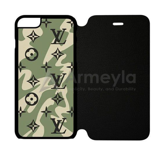Louis Vuitton Camo Pattern iPhone 6/6S Flip Case | armeyla.com