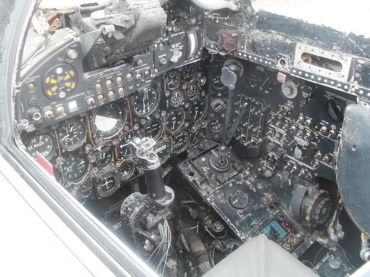 de Havilland Sea Vixen at the de Havilland Aircraft Heritage Centre in July 2012.
