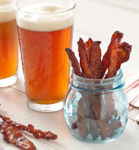 Teriyaki Chicken Jerky. Tangy, sweet and a little spicy. This jerky has a ton of flavor in a tiny package!
