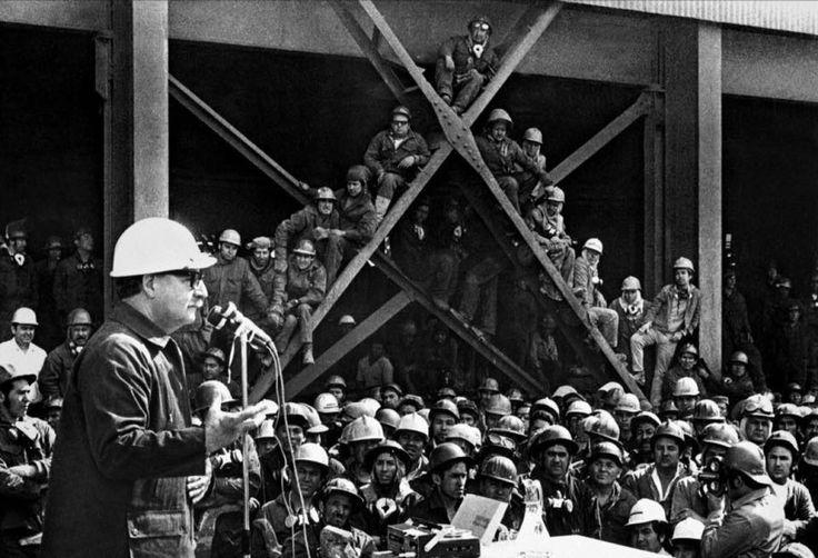 Del discurso del Presidente Salvador Allende el 1° de mayo de 1971, en el primer año de gobierno de la Unidad Popular.