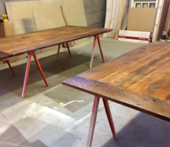 Reclaimed Wood Coffee Table Chicago: 1000+ Ideas About Restaurant Table Tops On Pinterest