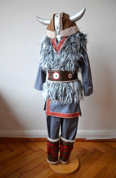Kostüme für Kinder - Helm für Wikinger, Wikingerhelm, LARP - ein Designerstück von maii-berlin bei DaWanda