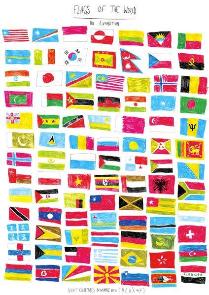 J'adorais mémoriser les noms des pays et leurs drapeaux. Mon père m'avait même fait un scrapbook dans lequel il avait reproduit plusieurs drapeaux en utilisant des cure-dents comme mâts... ;)
