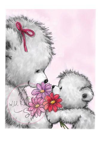 Karten-Kunst - Stempel- und Scrapbook-Shop - Wild Rose Studio Clear Stamp - Flowers for You