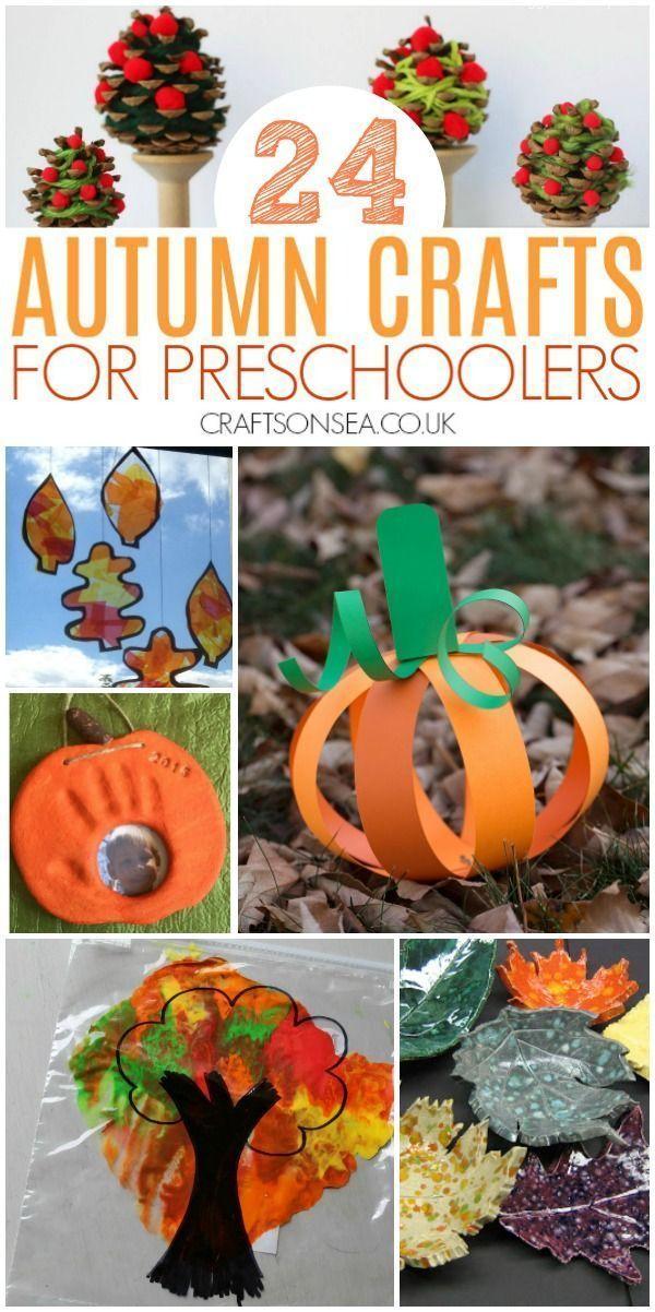Pinterest Fall Crafts Part - 18: 45+ Autumn Activities for Preschoolers | Crafts for Autumn | Pinterest |  Autumn activities, Preschool and Fall Crafts