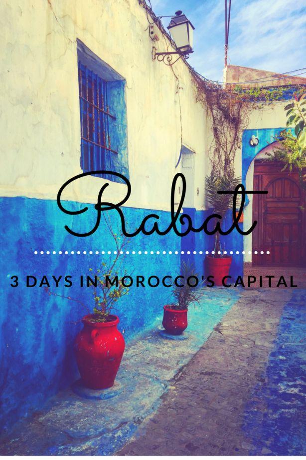 3 day exploring Rabat, Morocco's capital city
