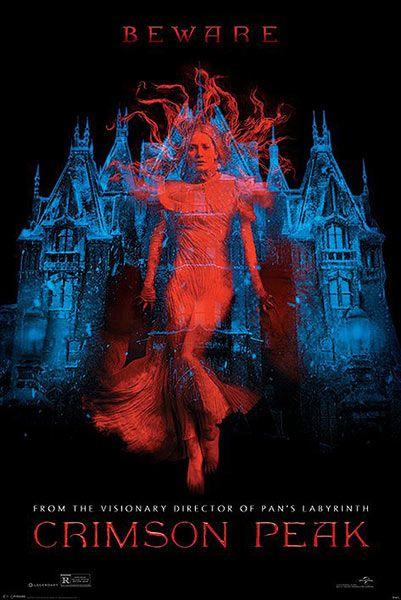 Póster La Cumbre Escarlata (Crimson Peak) Póster con la imagen de la portada de la nueva película del director Guillermo del Toro, La Cumbre Escarlata.