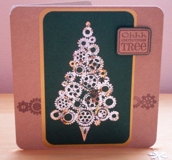 Clearance SALE  Ohhh Christmas Tree a Gilded by pollypurplehorse, £1.99