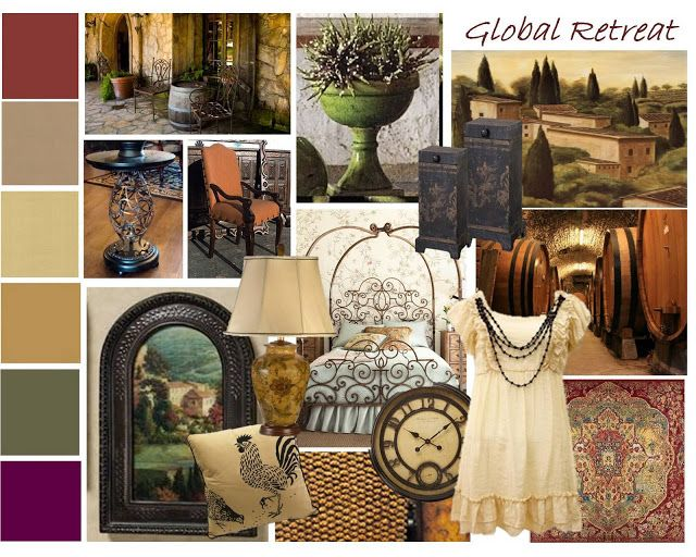 Old World Tuscan Decor | TRAD board is inspired by European influences like, Old World, Tuscan ...