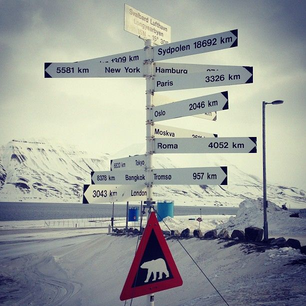 Svalbard Lufthavn, Longyear (LYR) , город Longyearbyen, Svalbard