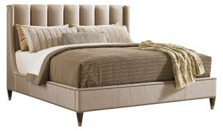 Pearl Barrington Upholstered Bed