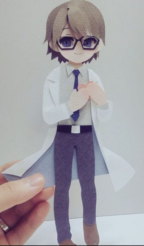 Papercrafts Paper Crafts Anime Paper Cutout Art Paper Crafts Paper Art