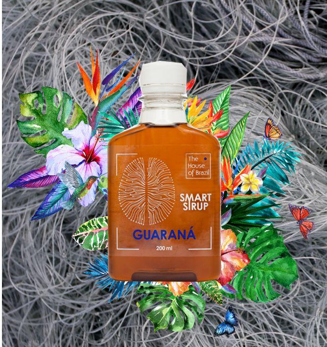 Smart Screwdriver: white rum + juice (cranberry or mango) + 30ml SmartSyrup Guarana
