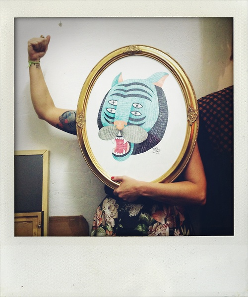 Cristina Galeote.  (Foto por Laura Calvarro).