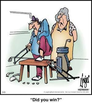Some days this seems logical. #golf #golfhumor #funny