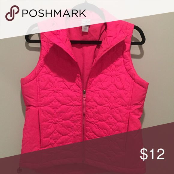 Pink vest Pink vest by Champion. Size small 💕 Champion Jackets & Coats Vests