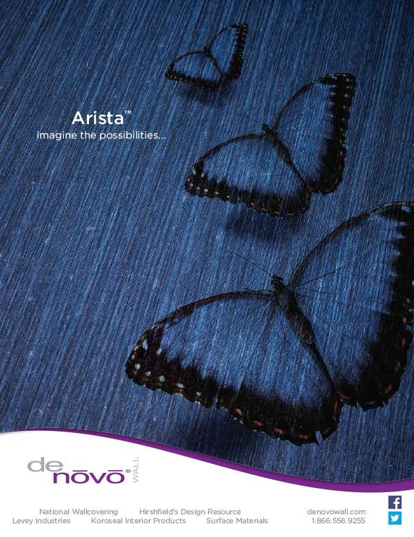 Creative Imaging For AristaTM Advertisement Design Shown In The Sept Issue Of Interior Magazine