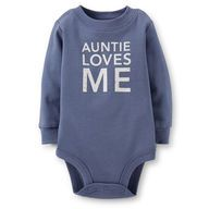 Auntie Loves Me Bodysuit from Carter's.