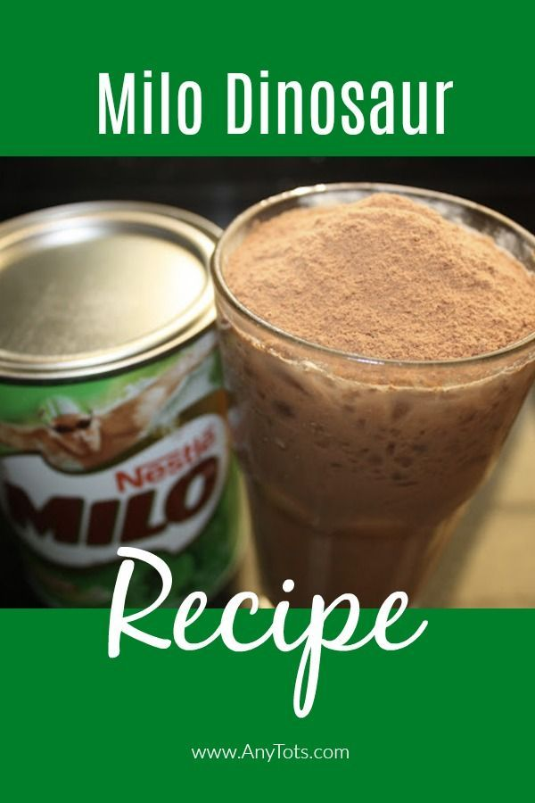 This Homemade Milo Dinosaur Recipe Is Very Refreshing Easy To Make Milo Dinosaur Can Be Made With Just A Few Ingredien Cold Drinks Recipes Milo Recipe Recipes