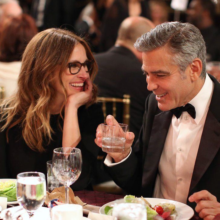 Pin for Later: What Does Julia Roberts Think of George Clooney's Surprise Engagement?