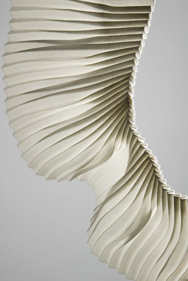 Experimental Pleating  By Richard Sweeney
