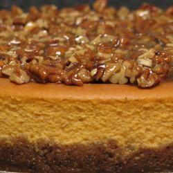 Sweet Potato Cheesecake... Yum!