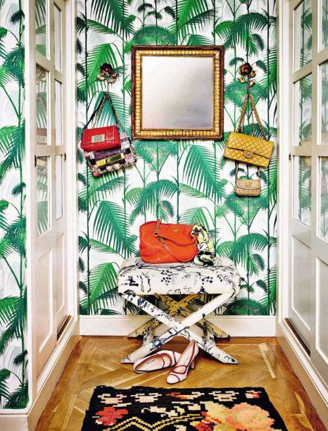 MFAMB :: My Favorite And My Best. Cole & Son psalm jungle wallpaper in green