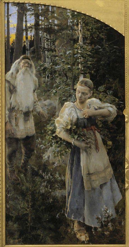 : Akseli Gallen-Kallela - pintura