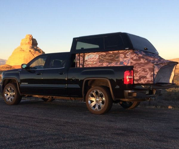 Canopy Lift For Truck Bed Tent Or Loading Large Items