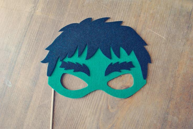 Hulk Photo Prop // Photo Booth Prop // Super Hero Prop on a stick // Super Hero Mask // Avengers Super Hero. $11.00, via Etsy.