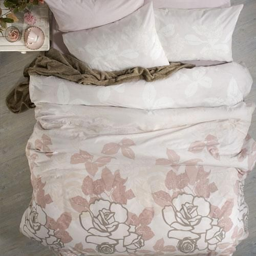 Printed polycotton | Floral pattern | Matching pillowcase(s) | Machine washable