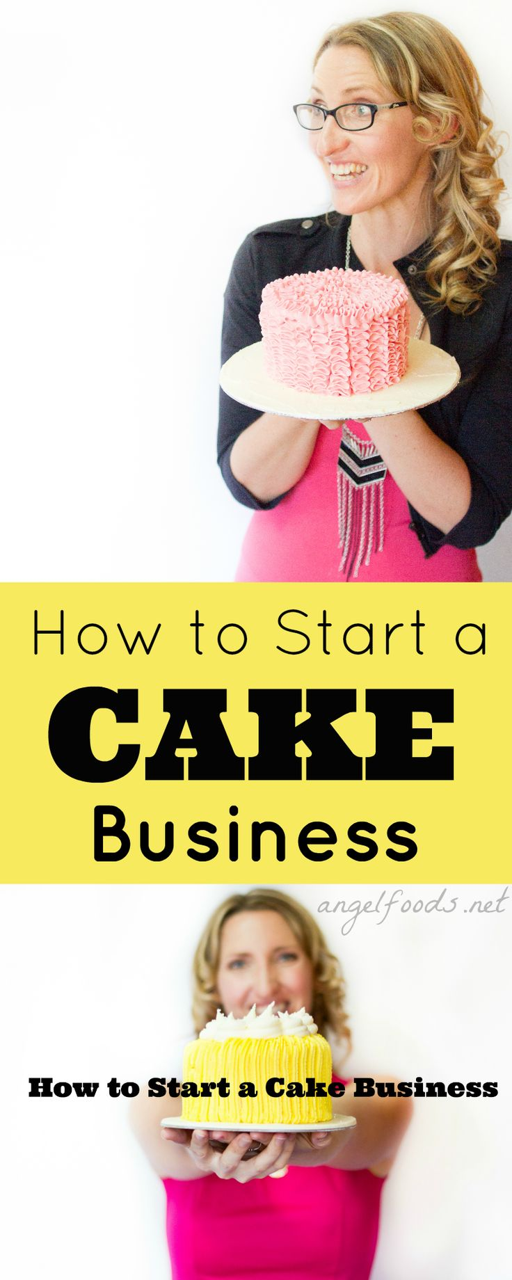 How to Start a Cake Business | What to Do & Where to Start Your Cake Business Wondering what the first step is to getting a cake business going? Whether it is cookies, sweets, cake pops ... Is it easy or hard, or even do-able? | http://angelfoods.net/how_to_start_cake_business/