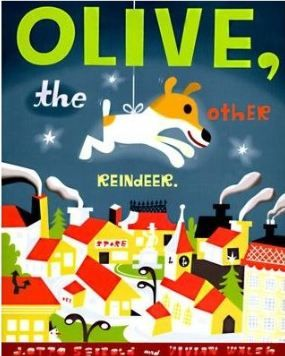 Olive the Other Reindeer - Verb Sort - Classroom Freebies