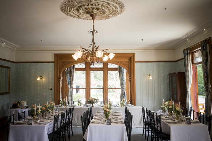 The Drawing Room set in perfect style for a wedding dinner