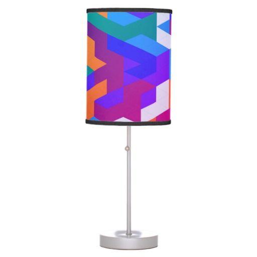 Luxury stylish Home Lamp : purple