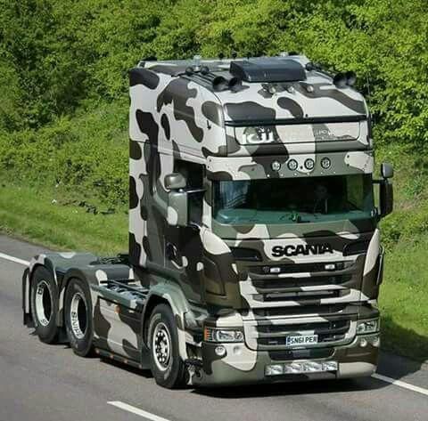 Camo Scania