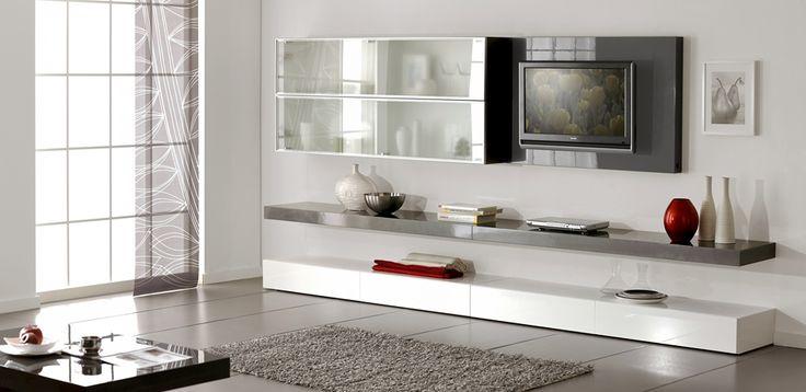 <b>Гостиные Натали 7</b><br>модульные системы для гостиной - фотографии