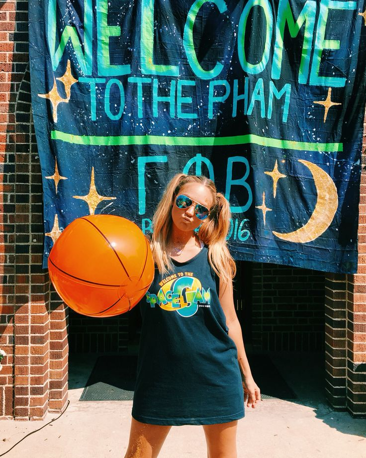 Space jam bid day theme More