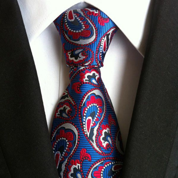 Men Business Retro Jacquard Lattice Tie Party Formal Retro Ties at Banggood