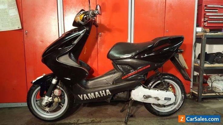 2002 YAMAHA YQ 50L AEROX BLACK Spares or repairs learner legal scooter #yamaha #yq50aerox #forsale #unitedkingdom