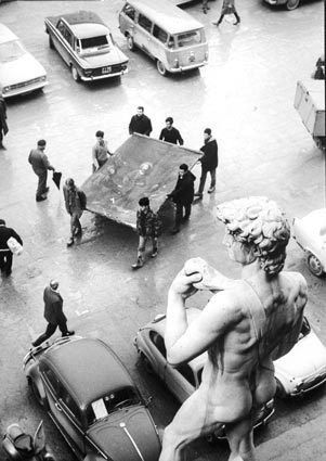 FIRENZE ALLUVIONE 1966 - FLORENCE EVERY DAY LIFE ART AND CULTURE