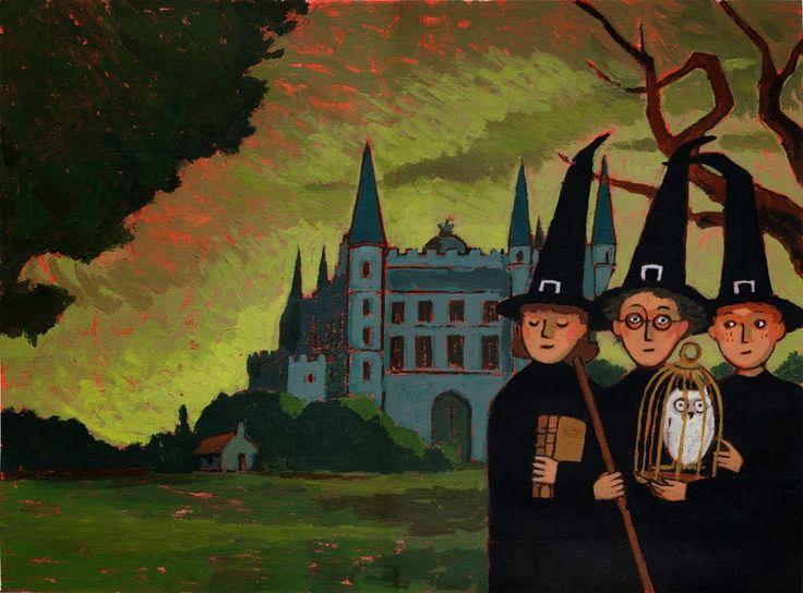 Гарри Поттер — французские иллюстрации и нидерландские обложки