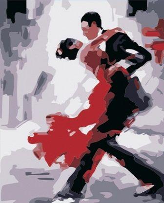Zakochani w tańcu Artimento - Malowanie po numerach